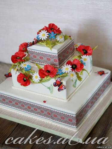 торты на заказ в украинском стиле фото